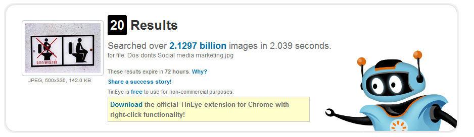 Tinyeye Reverse Image Search Engine