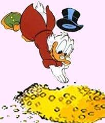 ganar dinero de la noche a la mañana