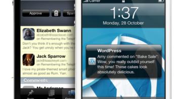 WordPress iPhone App : Now Push Enabled