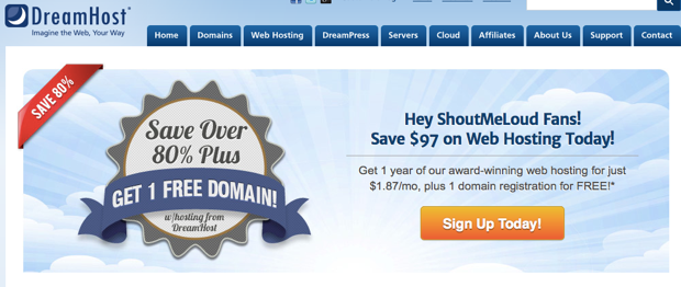 Dreamhost Alternate to Hostgator Best Alternatives to HostGator Hosting