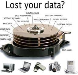 Free Data recovery tools