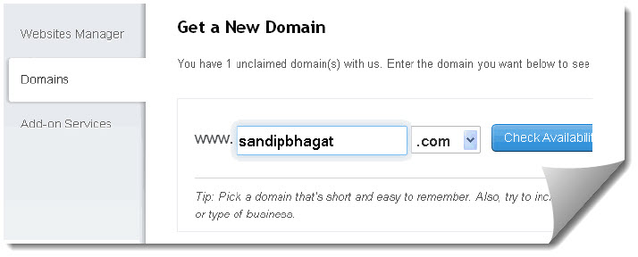 Get a Free Domain Name How To Get Free .com Domain Under Yourname.com