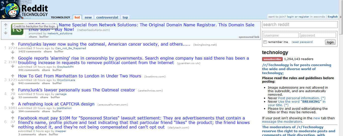Reddit Social site : Of The People, By The People, For The People