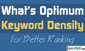 What's The Optimum Keyword Density for Better Ranking?