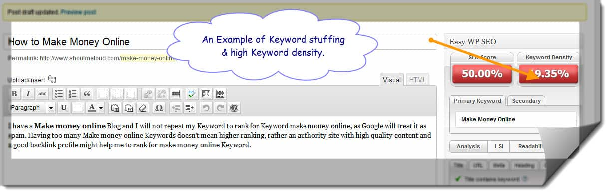What's Optimum Keyword Density for Better Ranking