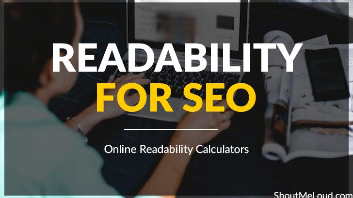 Readability for SEO: Online Readability Calculators