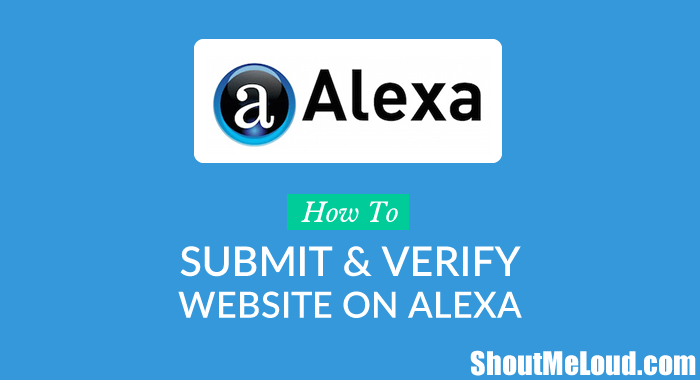 How to Submit & Verify Website on Alexa?