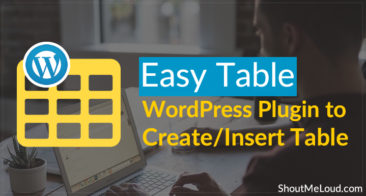 Easy Table: WordPress Plugin to Create/Insert Table