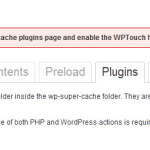 enable the WPTouch helper plugin. 150x150