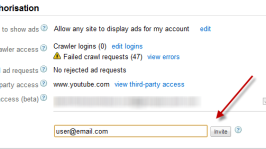 How to Invite other users to use Your Adsense account