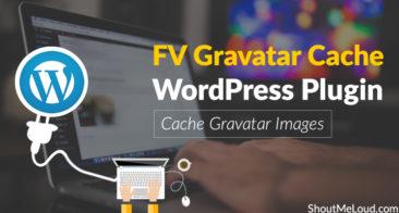 FV Gravatar Cache WordPress Plugin – Cache Gravatar Images