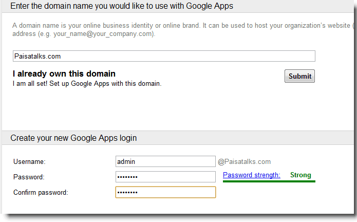 Google Apps Standard How to Set up Google Apps Standard on Bluehost cPanel