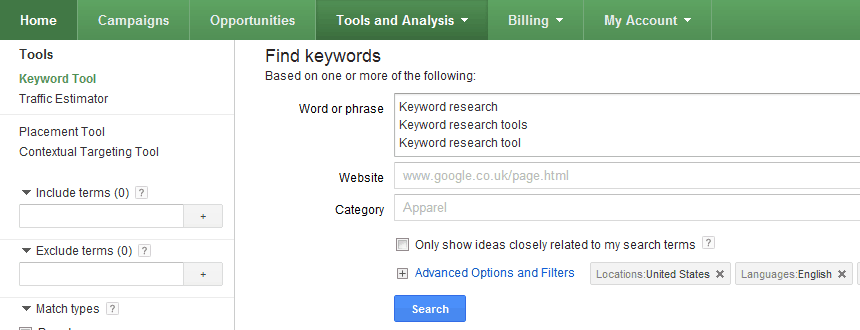 Google Keyword research tool Killer Keyword Research Tools For Dominating a Niche