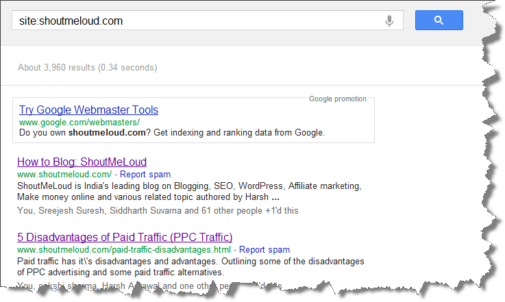 Google site operator How to Find Low Quality Content & Fix for Creating Quality Site