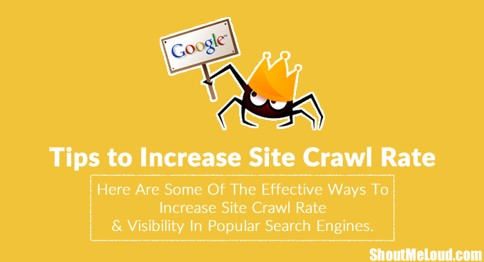 Increase Site Crawl Rate