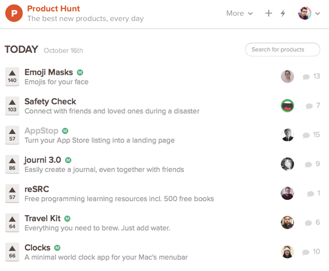 Producthunt Promote Android app