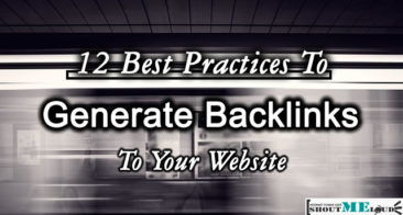12 Best Practices To Generate Backlinks to Your Website