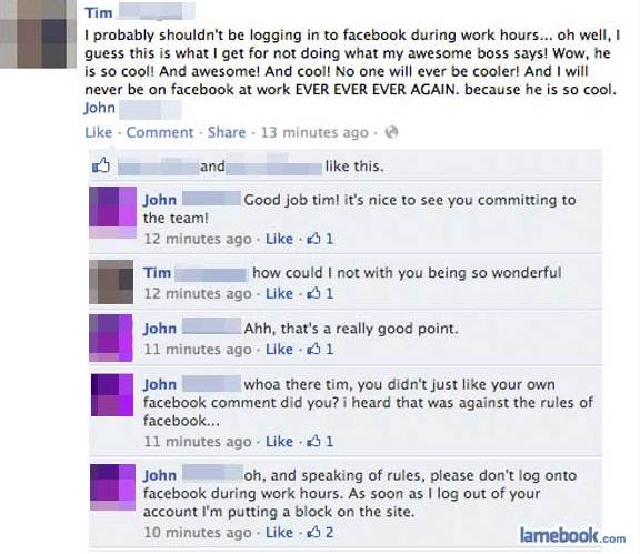 like a boss 5 Simple Ways To Become a Facebook Idiot