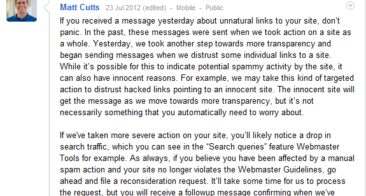 Panda 4.0 Launched and Google Unnatural Links Warning Drama