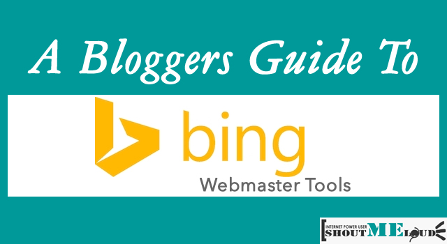 Bing Webmaster Tool For SEO