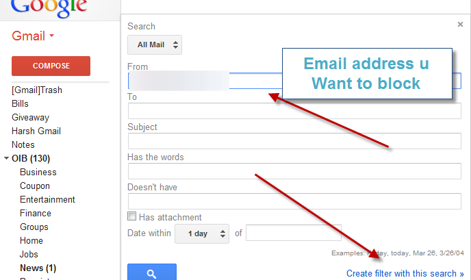 How to Block Email Address in Gmail