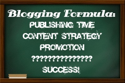 Blogging formula  Do You Have a Blogging Formula? If Not, Get One..