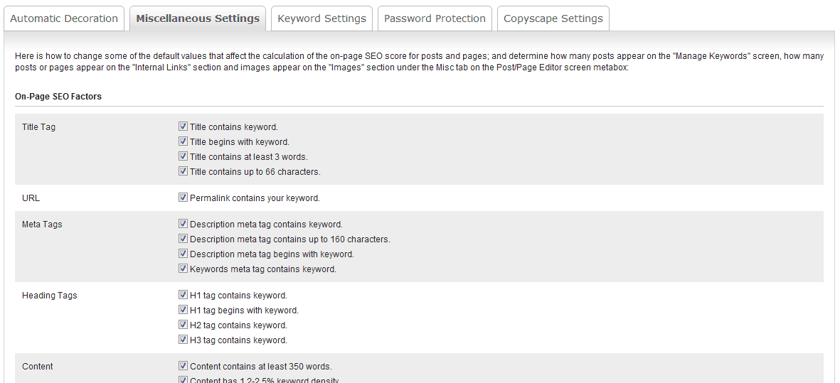 Easywpseo settings How to use Easy WP SEO WordPress Plugin