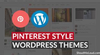 Free & Premium Pinterest Style WordPress Themes