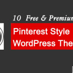 Pinterest Style WordPress theme 150x150