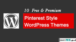 10  Free & Premium Pinterest Style WordPress Themes