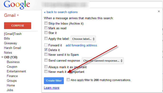 Trash Filters in Gmail How to Block Email Address in Gmail