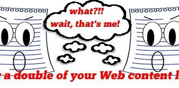 How To Prevent Duplicate Web Content On Your Website