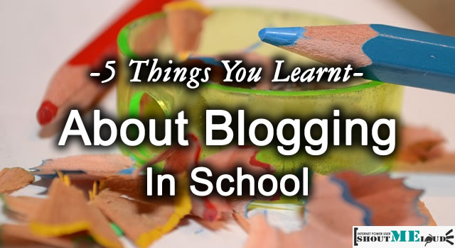Blogging in School
