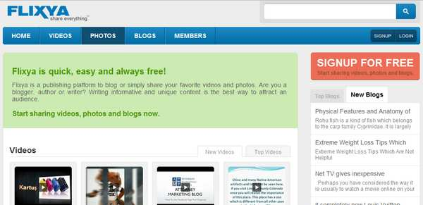 FlixYa video sharing website How to Make Money with Video Sharing Websites