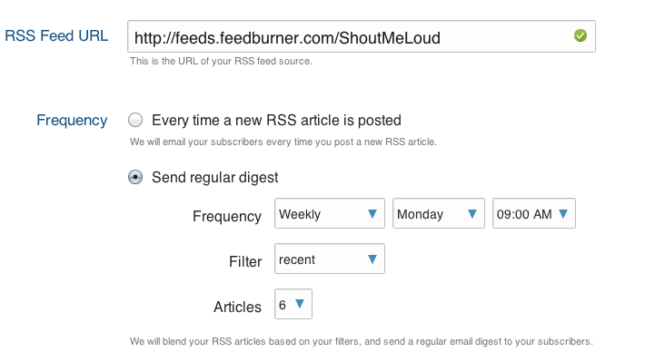 GetResponse Added RSS to Email Feature