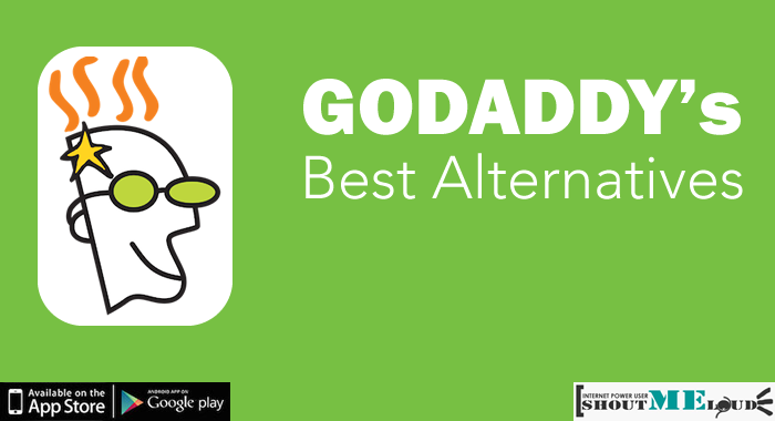 Godaddy Best Alternatives