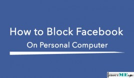 How to Block Facebook Website on Personal Computer