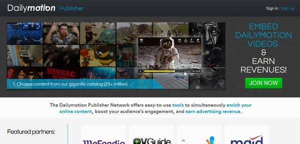 daily motion video sharing website How to Make Money with Video Sharing Websites