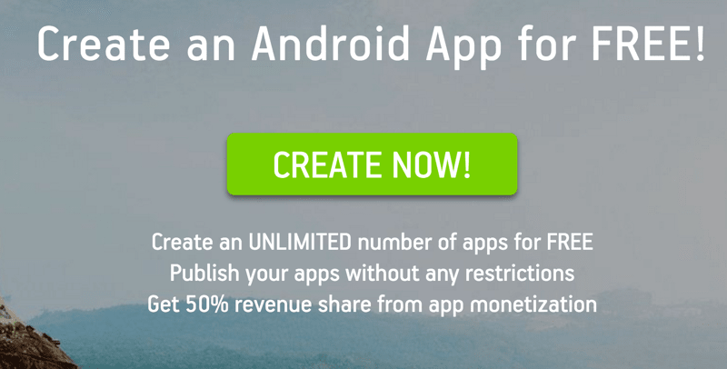 Design your own android app free for Who can design an app for me