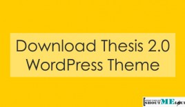 Download Thesis 2.0 WordPress Theme