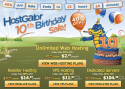 Thumbnail image for Happy 10Th Anniversary Hostgator : 40% Off