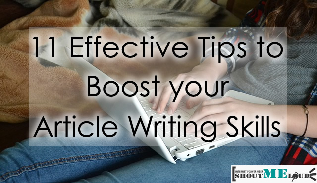 Improve Article Writing Skills