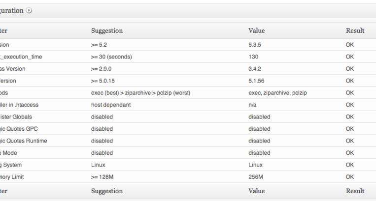ServerBuddy WordPress Plugin to Analyse Server Configuration