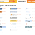 Knowem : Check Username Availability on Hundreds of Network