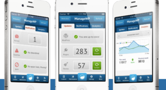 Download ManageWP iPhone App : Manage WordPress Blogs from iPhone