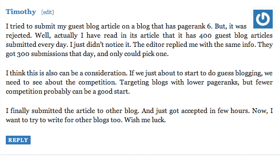 Blog comments 4 Recipe for Writing Great Blog Comments
