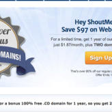 Dreamhost Discount Coupon 2014 Edition – Shouter Special offer