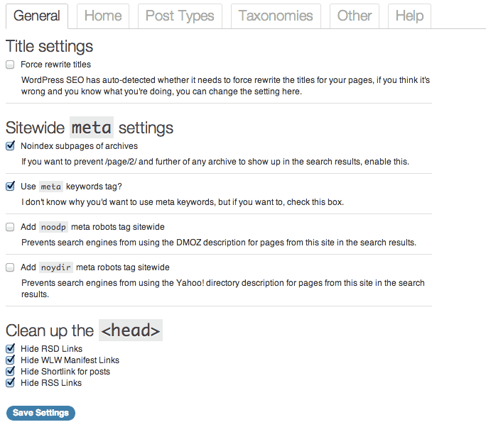 General Title and metas setting How to Set Up Yoast WordPress SEO Plugin