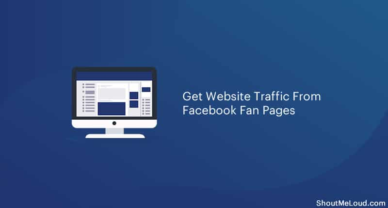 Get Website Traffic From Facebook Fan Page