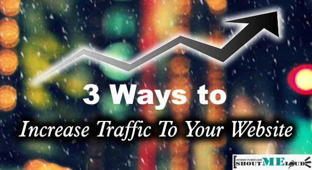 Increase Traffic to Blog